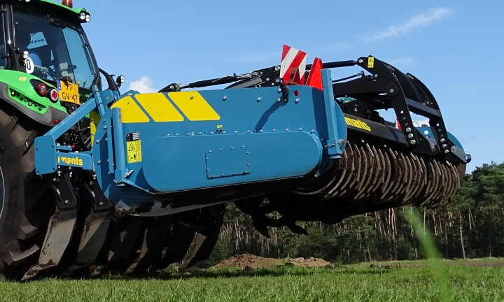 38SX, 38SX300H, Spadingmachine, spader, Imants, tillage, mulching, one pass operation, agriculture, No till, agriculture, horticulture, Working the soil, Light spadingmachine, soil,